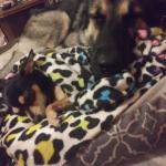 Sleepin with sister 😍